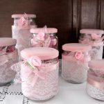 Riciclo creativo vasetti di vetro